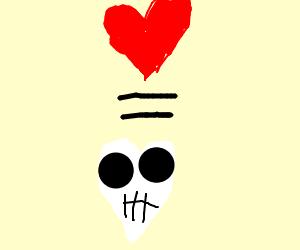 love is love  skull mode