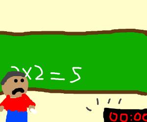 6 second math fail.