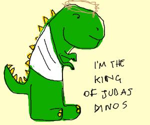 T-rex jesus!