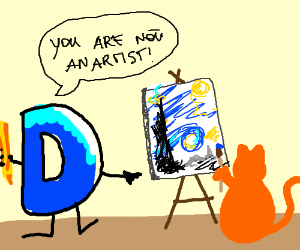Drawception does not allow cats to be artists.