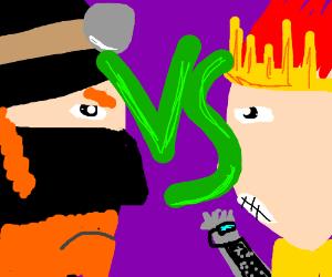 Dr McNinja vs. King Radical