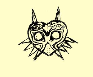 Majora's Mask from Legend of Zelda Games.