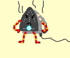 electric iron man