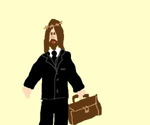 god is a businessman