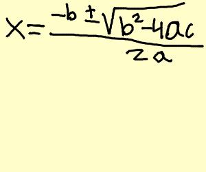 Stephen Hawking hates the Quadratic Formula.