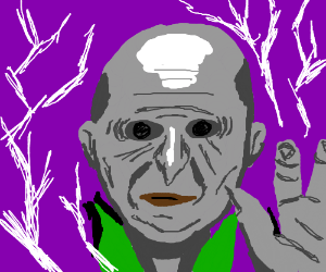 Voldemort gains electric superpowers