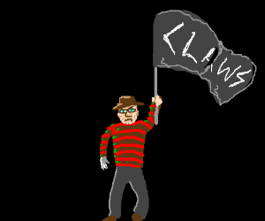 Flagged Freddy Kruger