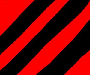 three diagonal thick black straight lines