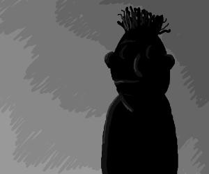 Silhouette of Bert