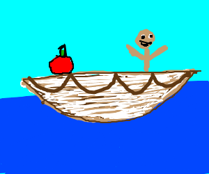 Life of Pi but with an apple