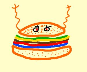 scary burger