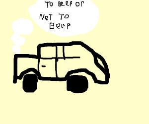 talking car says beep beep