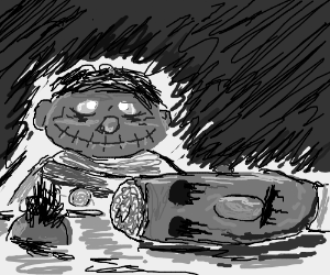 Psycho: Starring Bert and Ernie