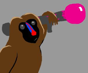 Baboon's Bazooka Bubblegum