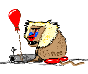 Bob the baboon and the bazooka balloon