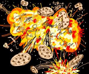 Explosions! Now with more cookies!