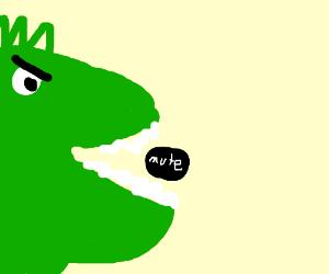 Godzilla eats the mute button