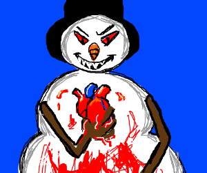 Abominable Snowman crushed your heart