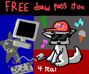 Free Draw. Pass it on!