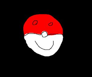 Happy pokeball
