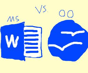 Microsoft Word vs. Open Office