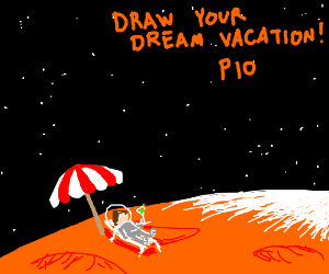Draw Your Dream Vacation PIO