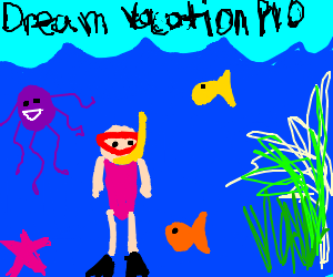 Draw Your Dream Vacation PIO Pass It On