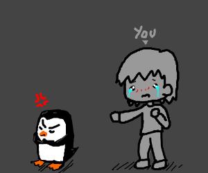 Penguin hates you