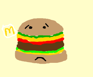Mcdonalds Burger Drawing