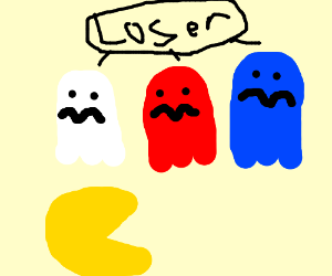 Ghosts participate in bullying
