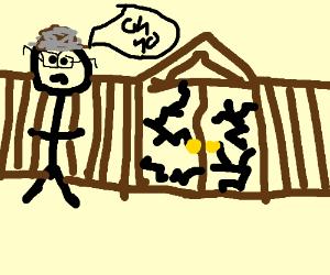Bill needs new gates