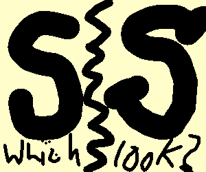 Should I wear my serifs today?
