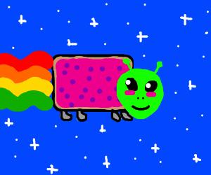 Alien Nyan Cat