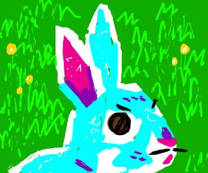 evil rabbit