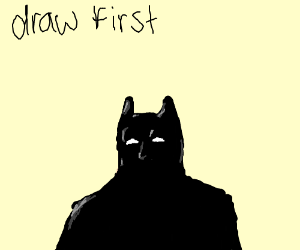 playing draw first mode starting with batman