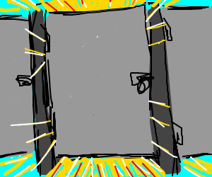 angry sun takes a crap in a bathroom stall