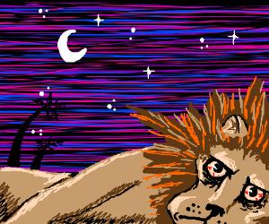 The lion doesn't sleep tonight