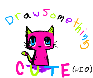 draw something cute (pass it on)