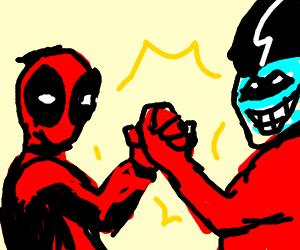 Deadpool and Freakazoid as a team