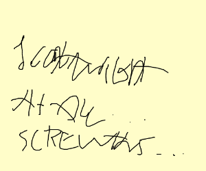 The Worst Handwriting Ever Seen By Man