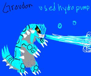 Plot Twist Groudon is actually Water Type
