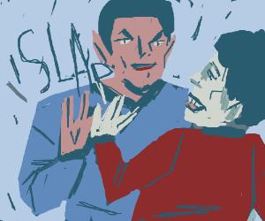 Vulcan high five