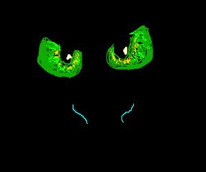 Toothless' eyes