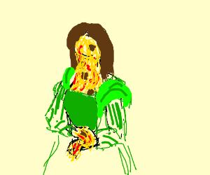 Mona Lisa is a spaghetti monster