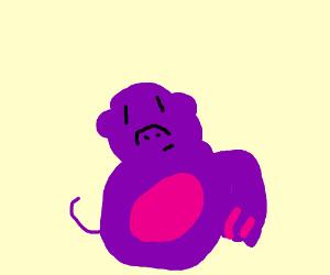 Bonzo the Purple Ape