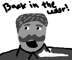 Stalin sings back in the USSR