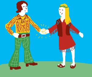 70s Handshake