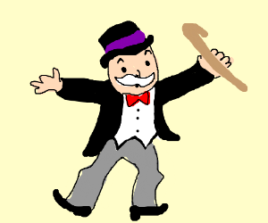 The monopoly guy