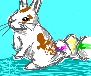 Easter bunny lays some eggs!