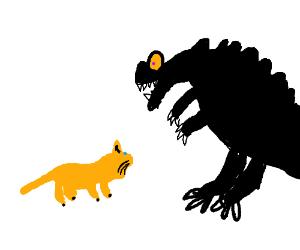 House Cat VS Black Dragon